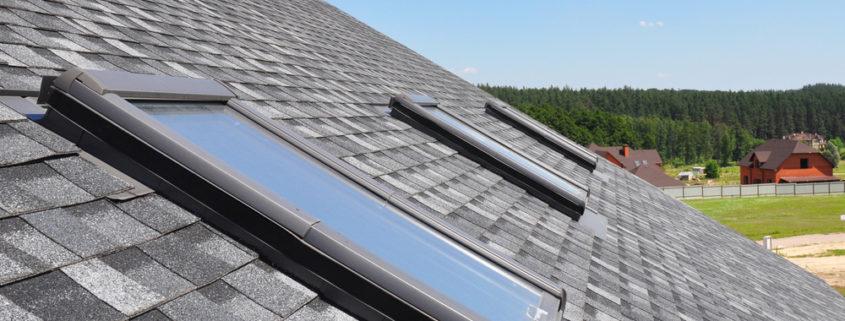 Saskatoon roofing skylight job